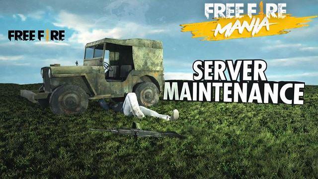 Free Fire in Maintenance - pembaruan 06/26/2019