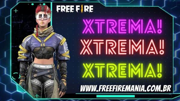 Free Fire: Evento de recarga traz a nova personagem Xtrema por 1 diamante, vale a pena?