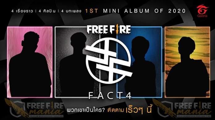 Free Fire FACT4: Novo projeto do Free Fire!