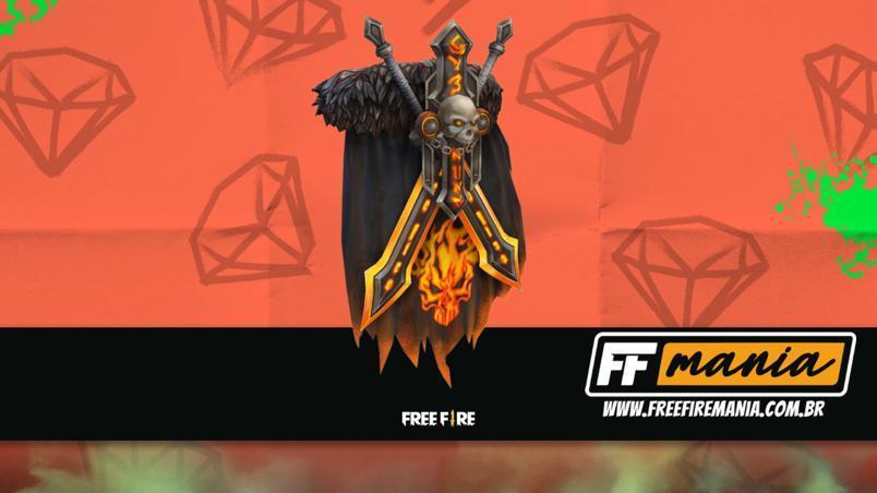 Free Fire (FF): evento de recarga traz inédita mochila Cavaleiro Sombrio