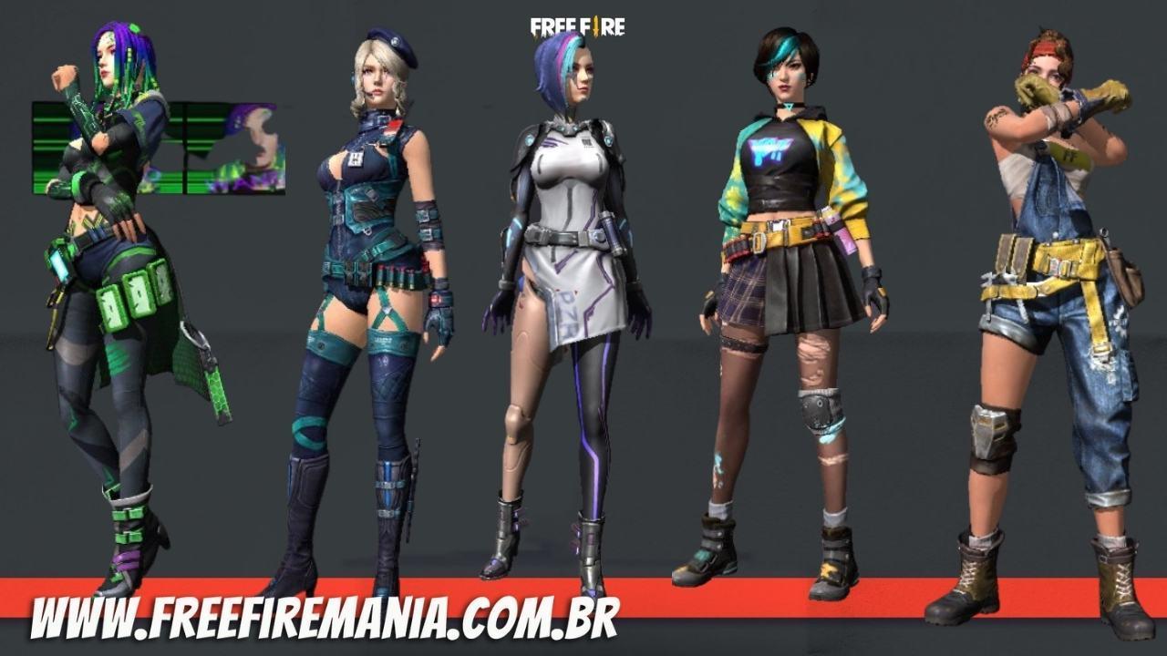 Free Fire (FF): evento do Dia da Mulher em 2021 oferece Pacote de Luxo de personagens de graça!