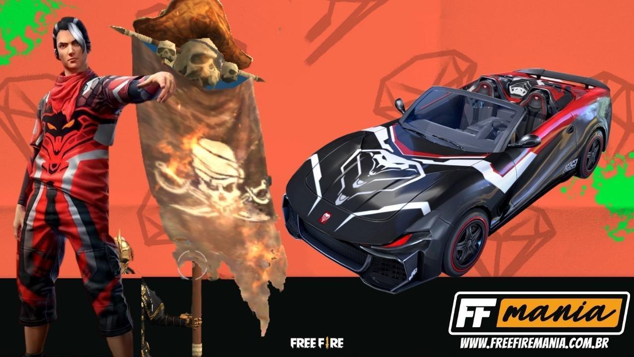 Free Fire (FF): Farra de Colecionadores chega na quinta e traz itens inéditos, confira a lista