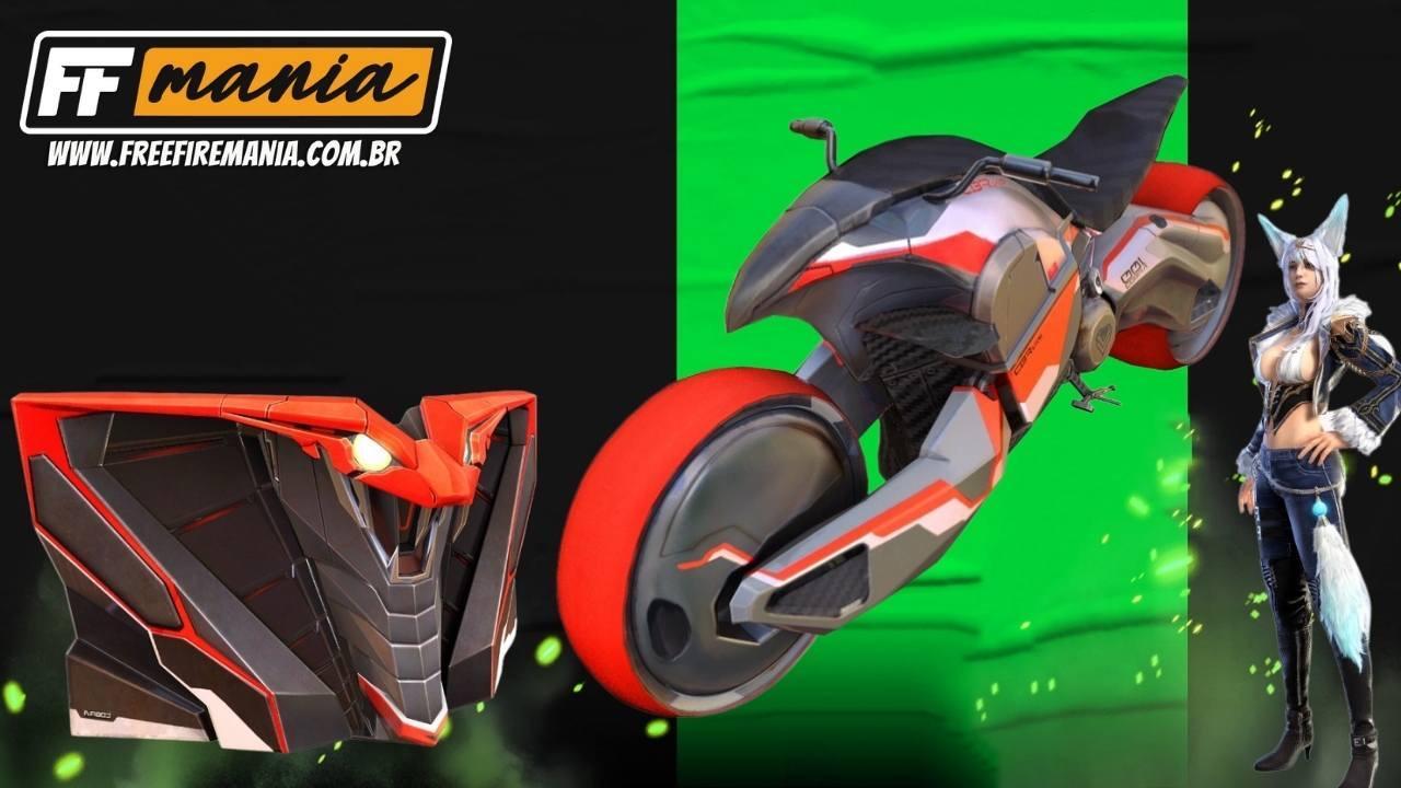 Free Fire (FF): Motocicleta Iniciativa Cobra, Granada de Gel e mais itens chegam no Combo Triplo!