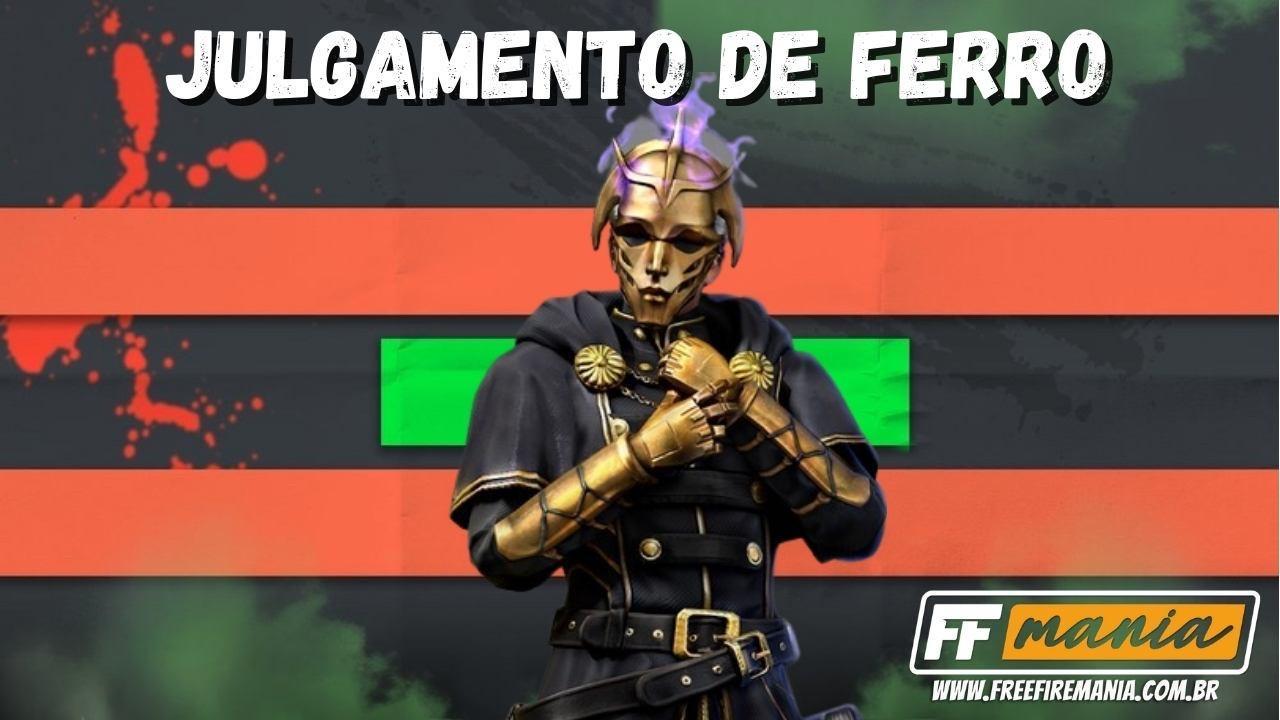 Free Fire (FF): Pacote Julgamento de Ferro chega no Bússola de Prêmios, veja como conseguir