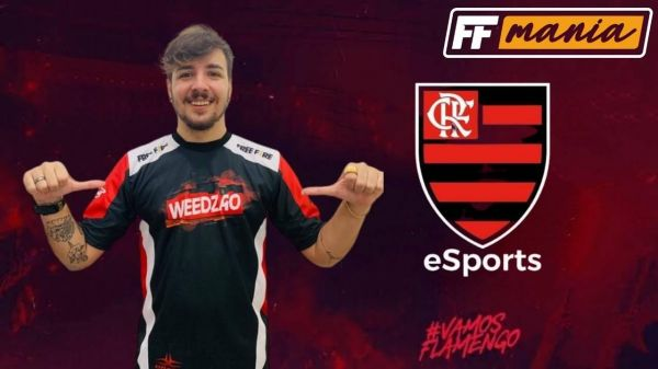Free Fire: Flamengo anuncia Weedzão como influenciador