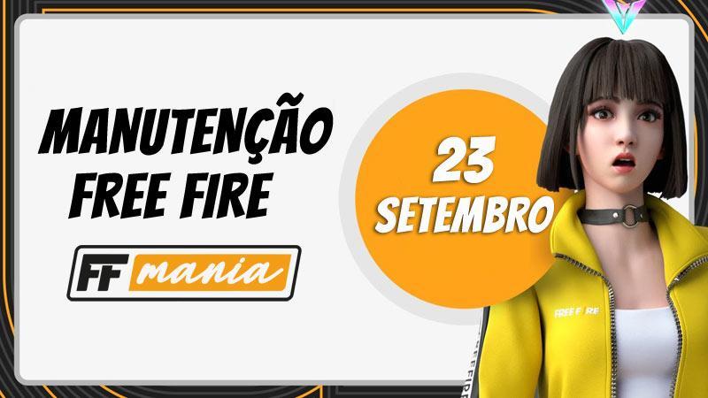 Free Fire fora do ar: manutenção para atualização de Setembro/2020