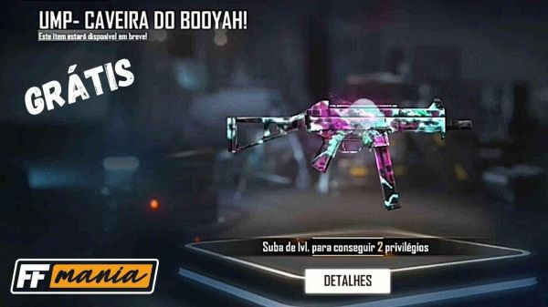 Free Fire: Garena anuncia a primeira skin evolutiva de armas
