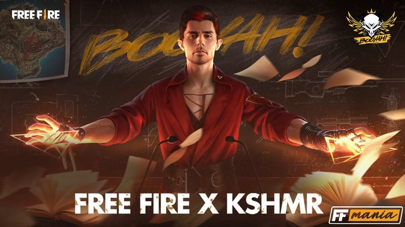 Free Fire: Garena anuncia o personagem Kamir, o Capitão Booyah