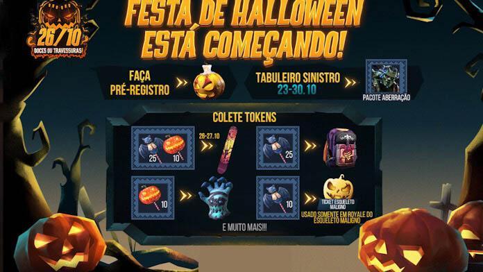 Free Fire Halloween - Saiba tudo sobre o Evento da Garena