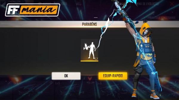 Free Fire: Invocação Dracônica é o novo emote do jogo, veja como conseguir