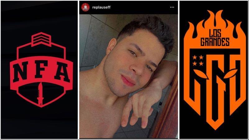 Free Fire: Jogador Replause comenta sobre sua expulsão da LOS GRANDES
