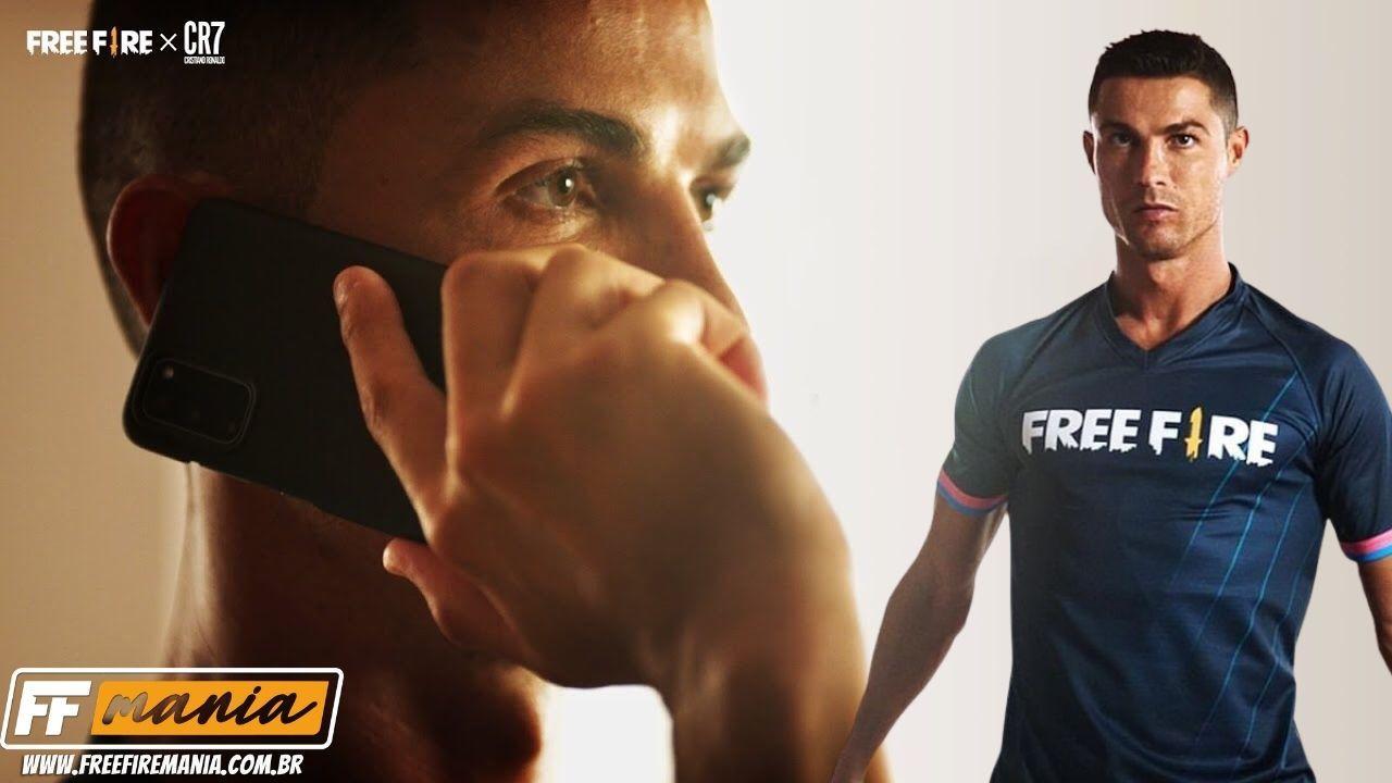 Free Fire lança trailer da Operação Chrono com Cristiano Ronaldo