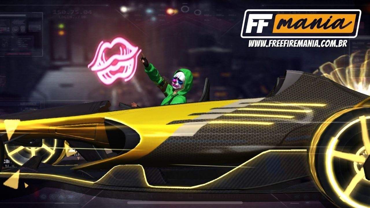 Free Fire libera os novos itens MCL-FF Volta Final, Velocidade e Estilo através do Grafitando