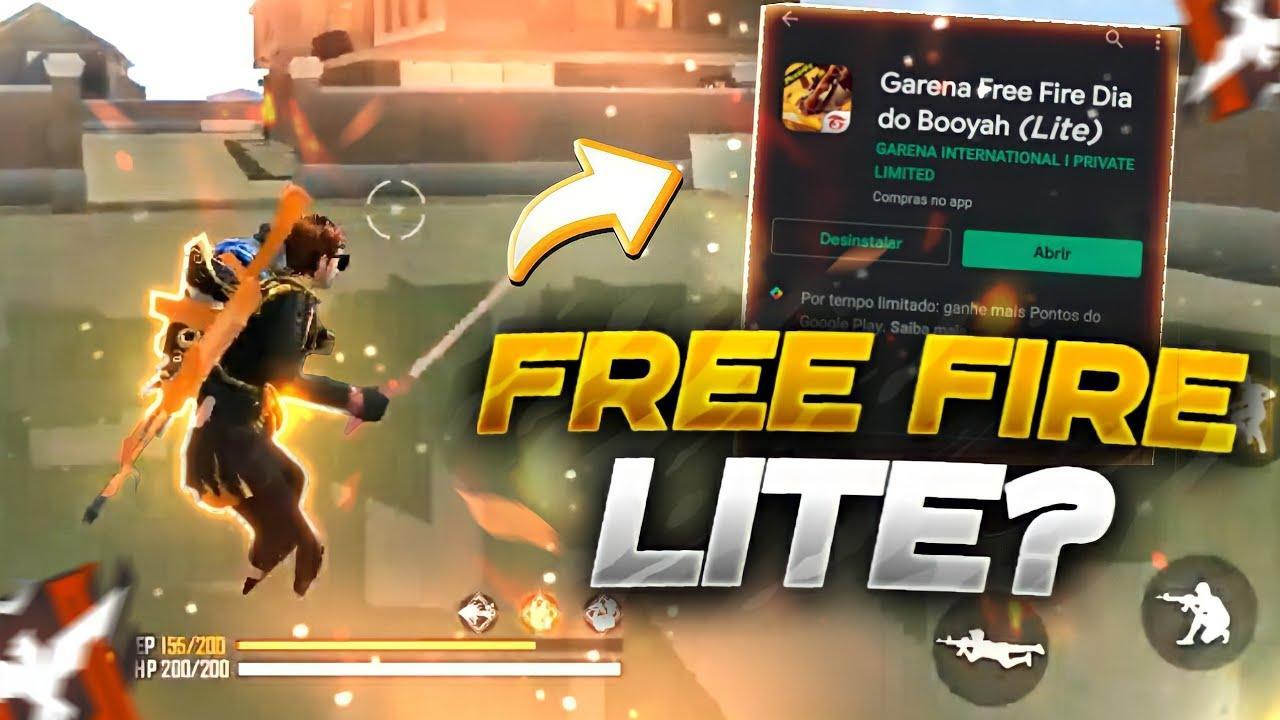 Free Fire Lite: existe um APK disponível para baixar uma versão otimizada do jogo?