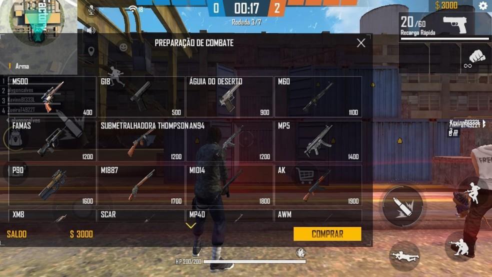 Free Fire: MP40 e MP5 estarão de volta ao Contra Squad na temporada 5, confira as mudanças