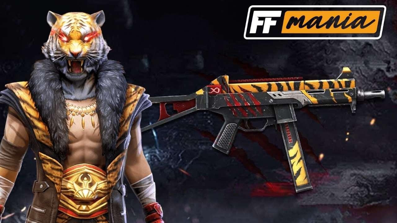 Free Fire: novo Arma Royale é da UMP