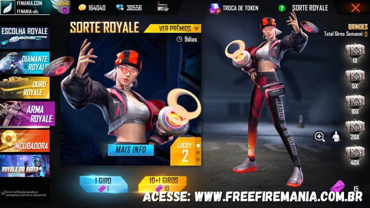 Free Fire: novo Diamante Royale de 2021 traz o pacote Onda Sônica