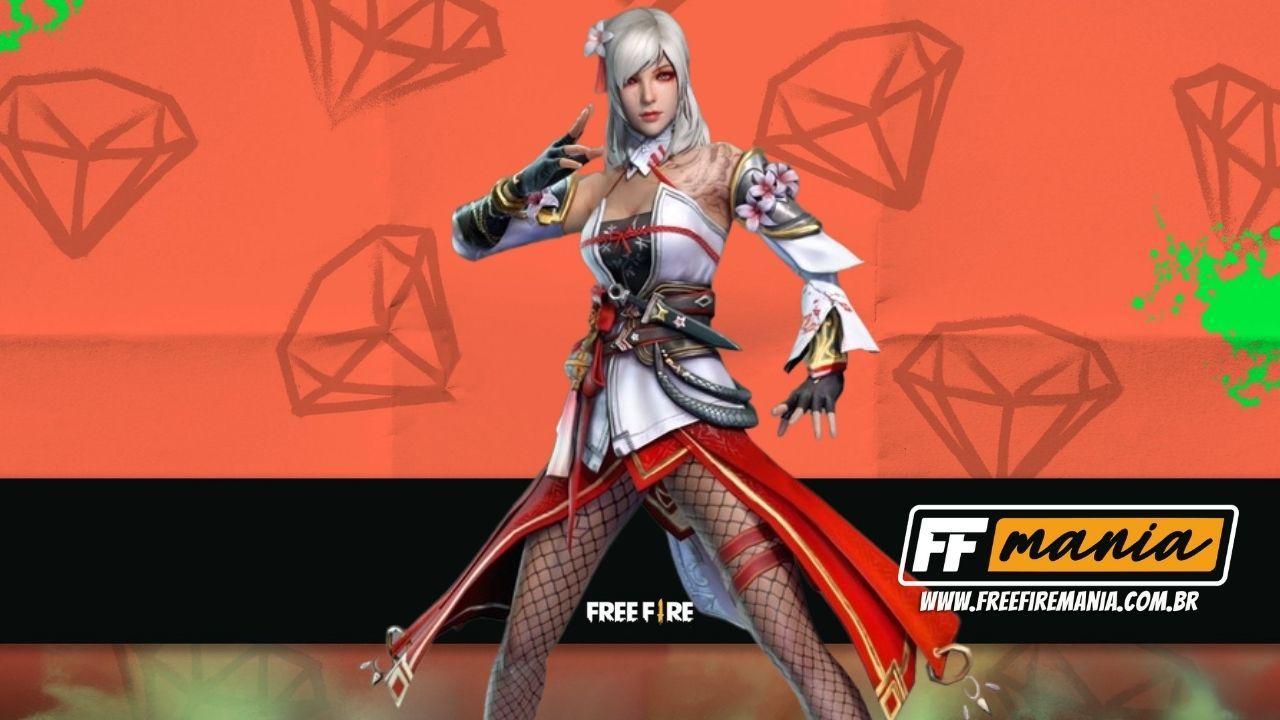 Free Fire: Pacote Yukisagi é o novo Diamante Royale de Maio 2021