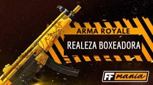 Free Fire: Next Arma Royale trae el MP5 Boxing Royalty
