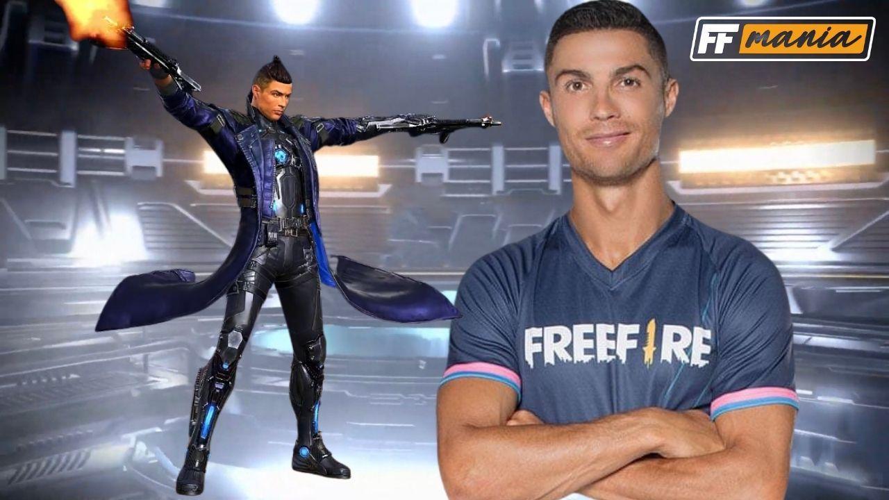 Free Fire revelará Cristiano Ronaldo e Chrono, ao vivo no jogo