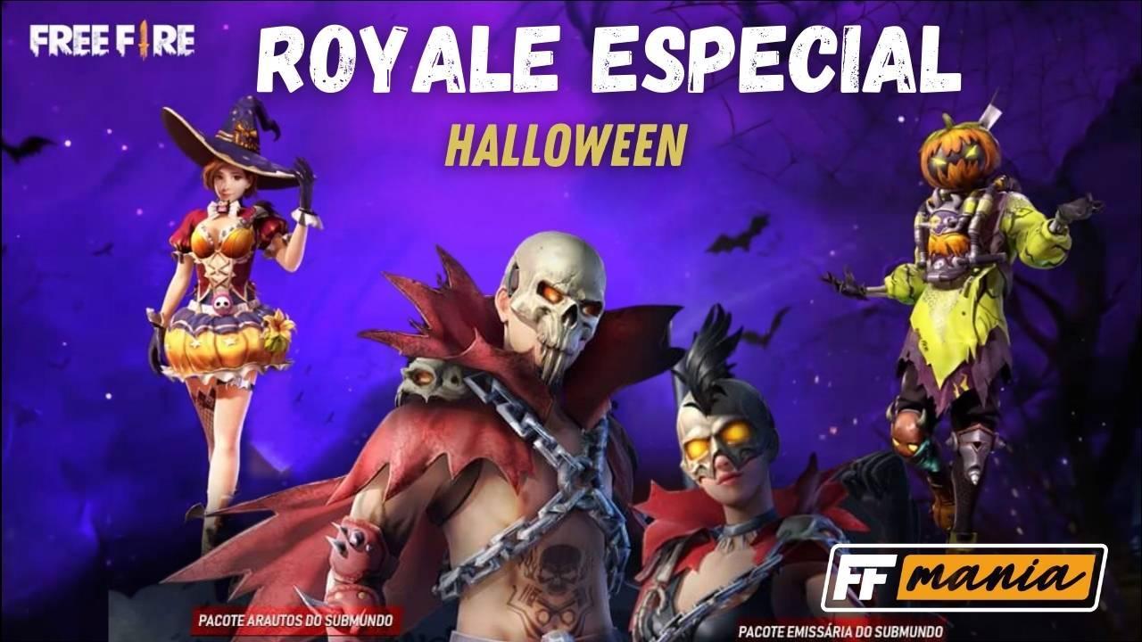 Free Fire: Royale Especial de Dia das Bruxas 2020