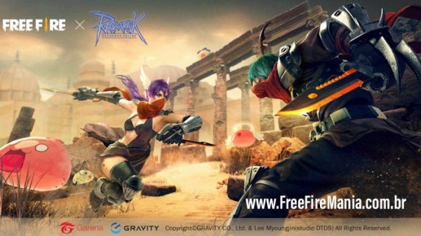 Free Fire terá evento temático de Ragnarok Online
