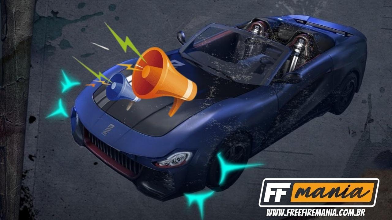 Free Fire: Veículos com buzinas é a nova atração da atualização de Fevereiro 2021