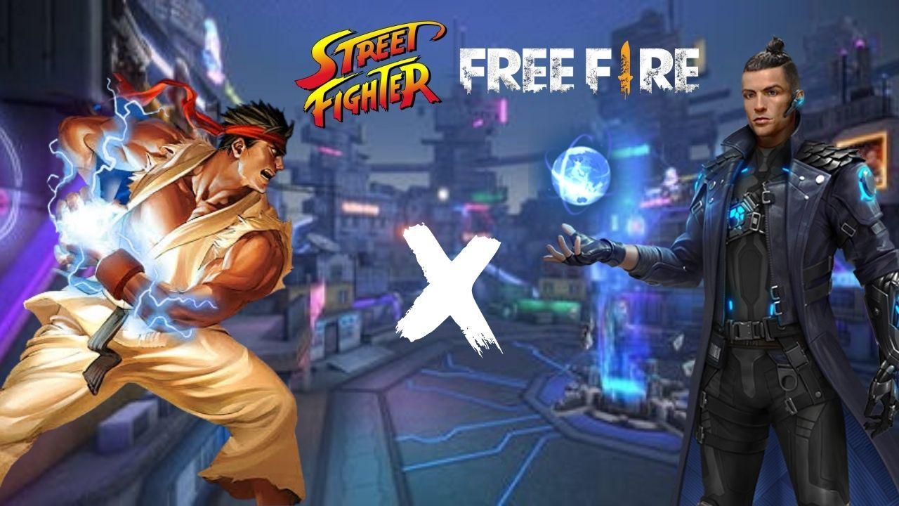 Free Fire x Street Fighter: possível parceria é vazada nos arquivos e itens são divulgados