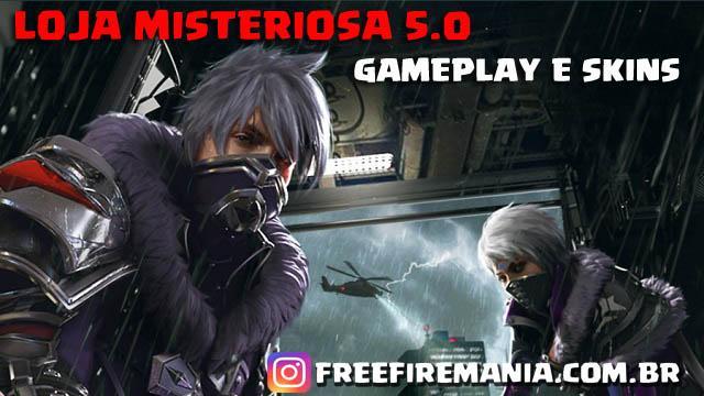 Gameplay com as Skins da Loja Misteriosa 5.0