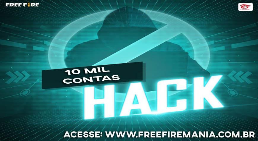 Garena baniu mais de 10 mil contas de Hacks e trapaceiros no Free Fire