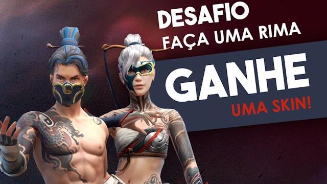 Garena BR está dando a Skin da Incubadora gratuita!