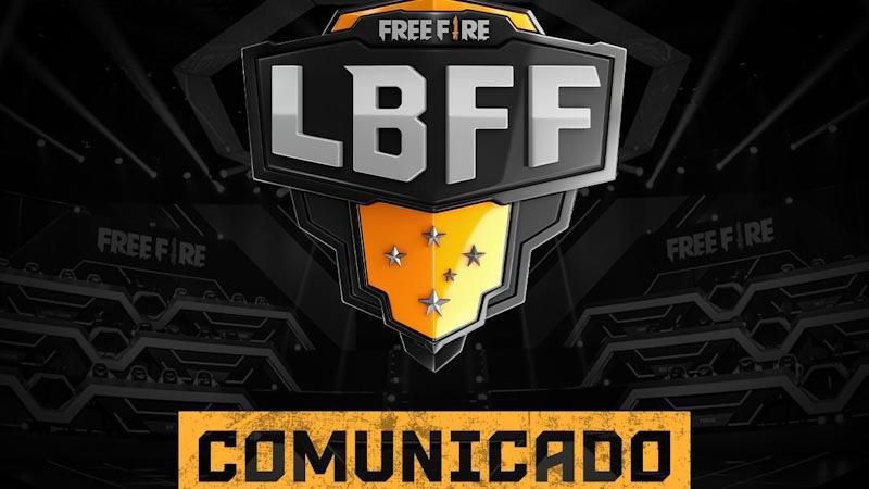 Garena cancela a 2ª etapa da Liga Brasileira de Free Fire - LBFF