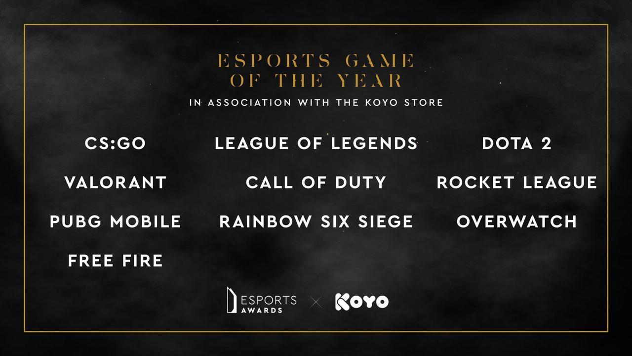 Garena e Free Fire são indicados ao prêmio eSports Awards 2021, veja como votar