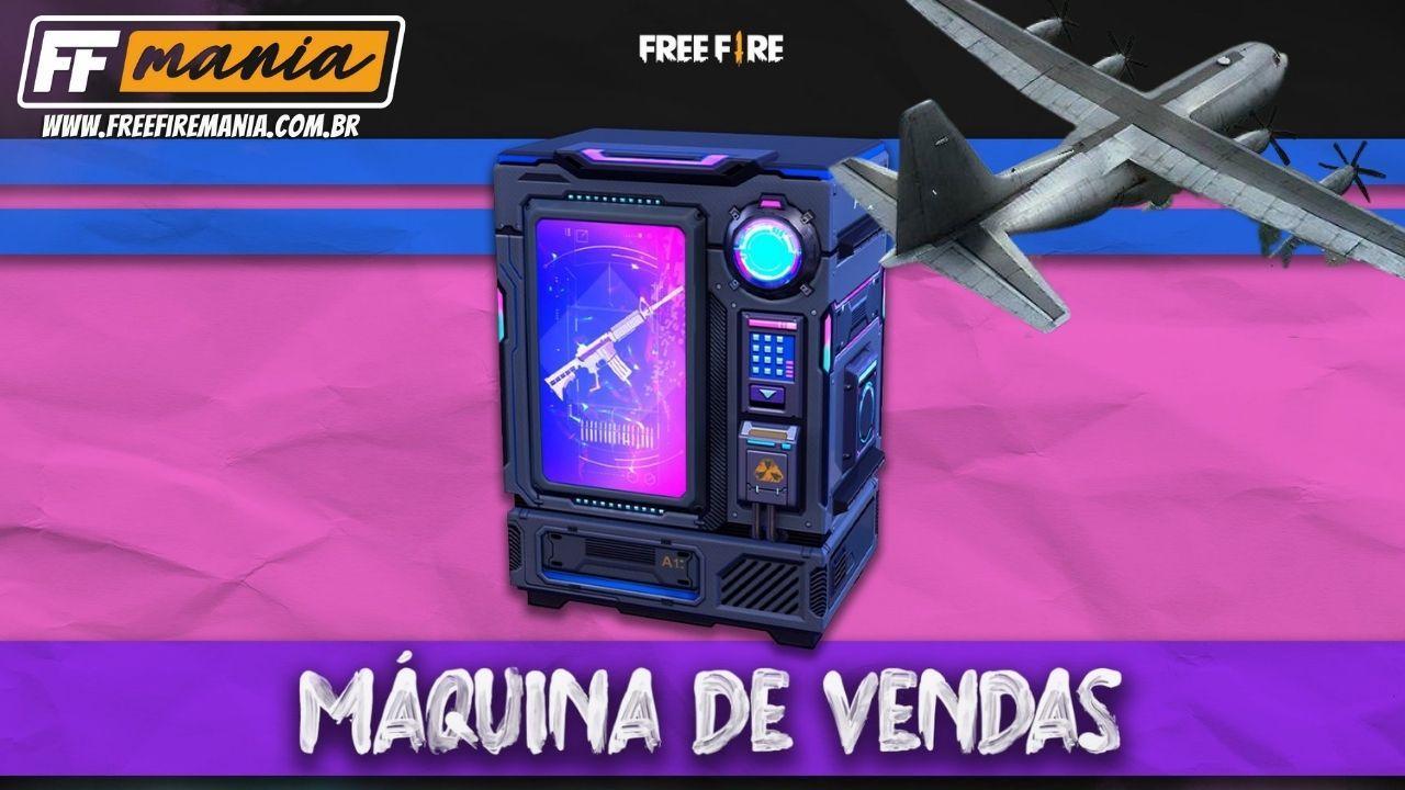 """Garena Free Fire """"nerfs"""" mesin penjual otomatis dan pemain harus melihat ke langit"""