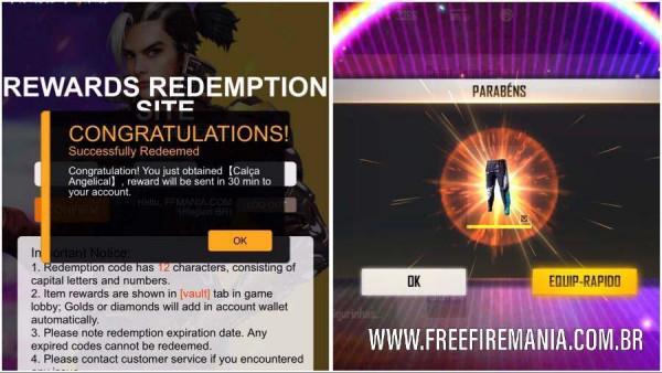 Garena Free Fire Rewards Redemption Site: tudo que você precisa saber