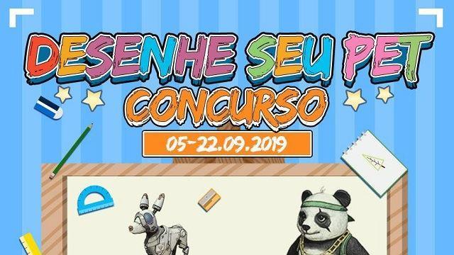 Garena lança Concurso Desenhe seu Pet