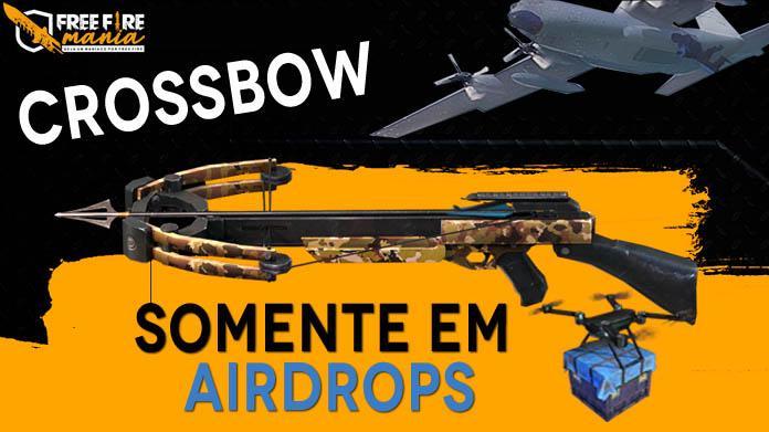 Garena muda novamente a Crossbow: SOMENTE nos Airdrops