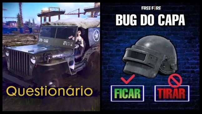 Garena Quer Sua Opinião: O Bug de Capa deve ser Removido?
