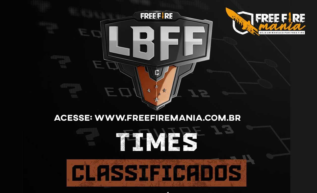 Garena atualiza lista de times da Classificados na Serie C da LBFF