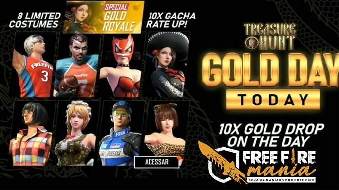 Garena membawa Gold Royale Skins dalam Special Gold Royale