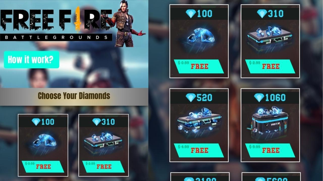 getspin4you online Free Fire: golpe promete diamantes mas é tudo farsa
