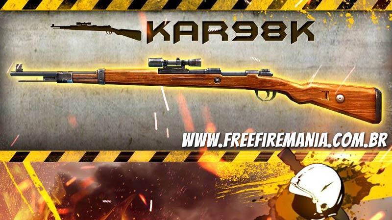 Gosta da Arma KAR98K com anexo? Vai nerfar!
