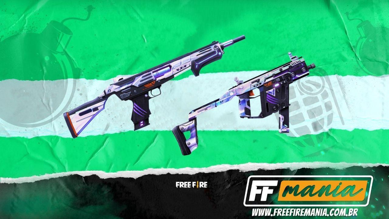 Grafitando Free Fire: evento retorna com as inéditas skins MAG-7 e Vector Mundial 2021