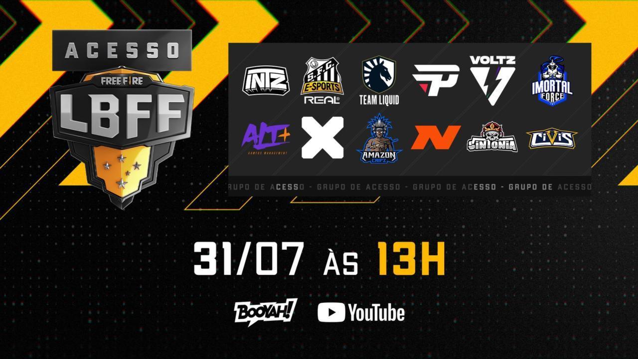 Grupo de Acesso LBFF 2021: disputa para a elite da LBFF 6 acontece neste sábado (31)