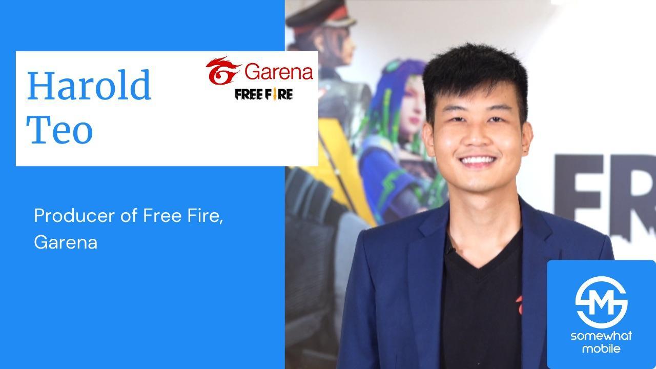 Harold Teo, produtor do Free Fire sobre a LBFF: