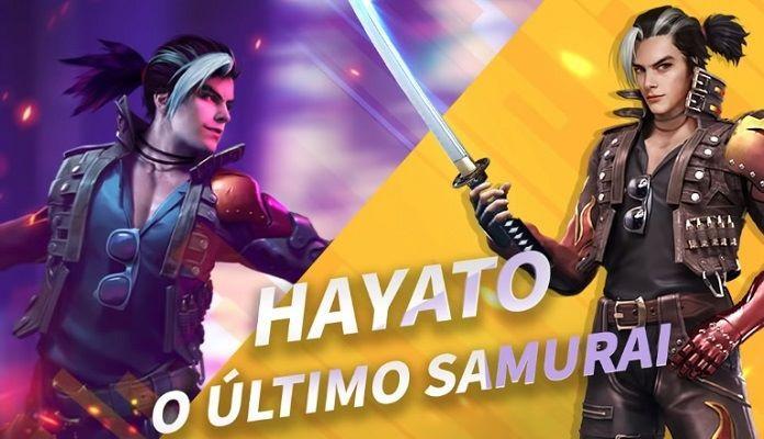 Hayato: Saiba porque ele é o personagem mais usado no Free Fire