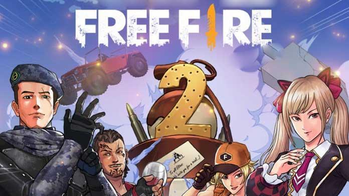 Hoje o Free Fire Completa 2 Anos do Lançamento Global