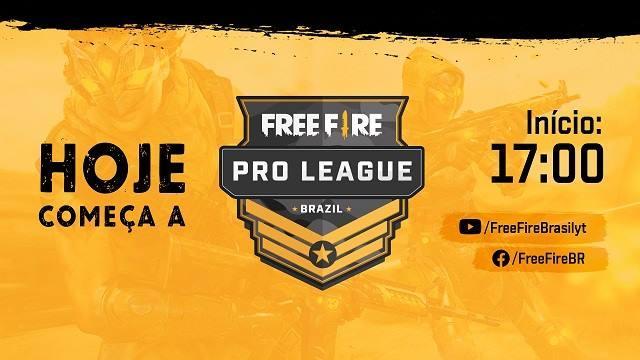 Hoje tem Free Fire Pro League 28/09