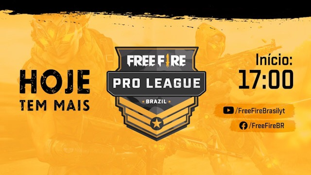 Hoje tem Free Fire Pro League ao Vivo 05/10