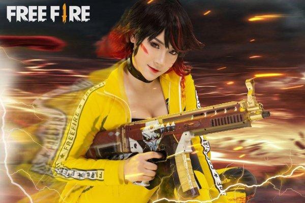 Imagens: Cosplay de Personagem no Free Fire - Kelly Ventania